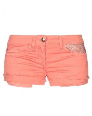 Повседневные шорты BETTY BLUE. Цвет: лососево-розовый