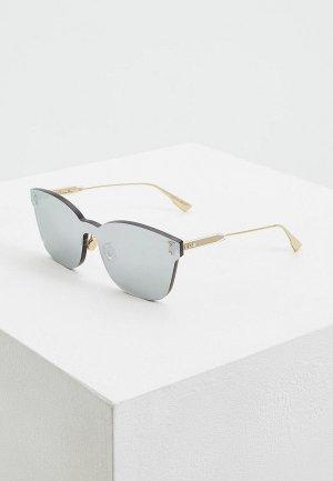 Очки солнцезащитные Christian Dior DIORCOLORQUAKE2 YB7. Цвет: серебряный