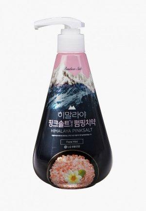 Зубная паста Perioe с розовой гималайской солью Pumping Himalaya Pink Salt Floral Mint, 285 г. Цвет: прозрачный