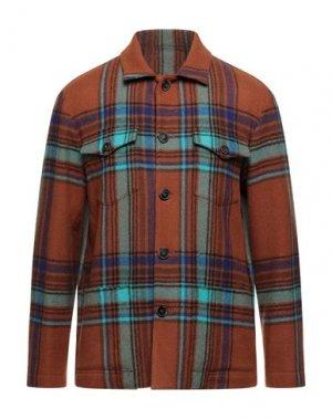 Куртка ALTEA. Цвет: желто-коричневый
