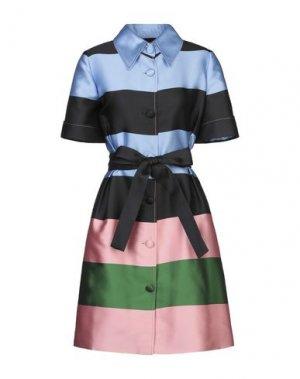 Короткое платье CAROLINA HERRERA. Цвет: лазурный