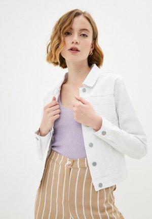 Куртка джинсовая Savage. Цвет: белый