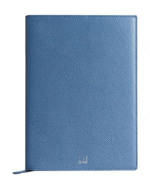 Записная книжка DUNHILL. Цвет: пастельно-синий