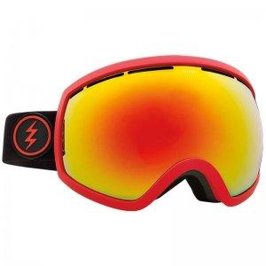 Маска сноубордическая EG2 Electric. Цвет: красный