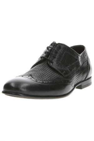 Ботинки Baldinini Trend. Цвет: derby bott forato nero