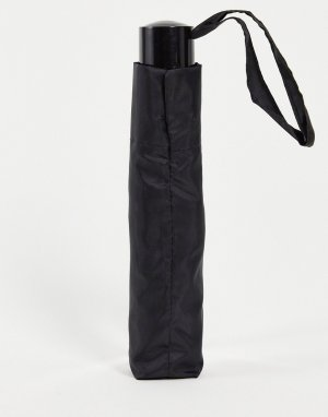 Черный классический зонт -Черный цвет Topman