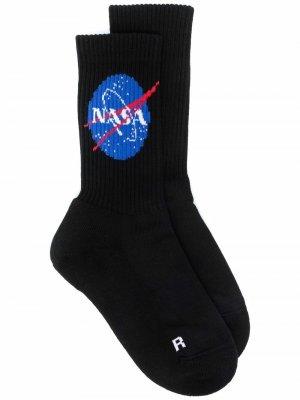 Носки из коллаборации с NASA Balenciaga. Цвет: черный