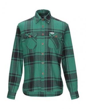 Pубашка FRANKLIN & MARSHALL. Цвет: зеленый