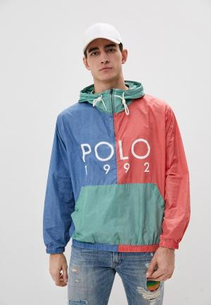 Ветровка Polo Ralph Lauren. Цвет: разноцветный