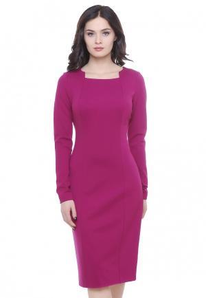 Платье Grey Cat ILVA. Цвет: розовый
