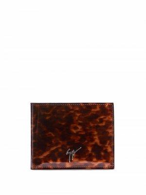 Бумажник Albert Giuseppe Zanotti. Цвет: коричневый