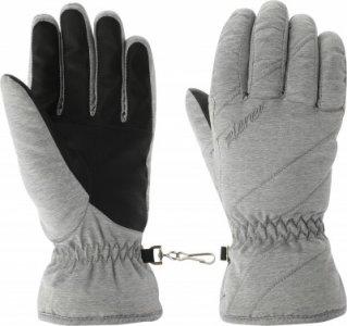 Перчатки женские , размер 7,5 Ziener. Цвет: серый
