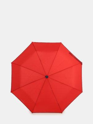 Складной зонт Ferre Milano. Цвет: krasnyy