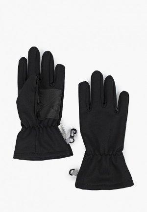 Перчатки Lassie Yodiell. Цвет: черный
