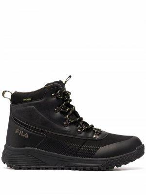 Ботинки Hikebooster Fila. Цвет: черный