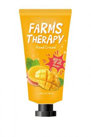 Крем для рук Манго Farms Therapy. Цвет: белый