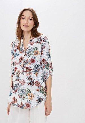 Блуза Очаровательная Адель. Цвет: белый