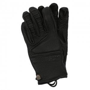 Кожаные перчатки H-D Moto Harley-Davidson. Цвет: чёрный