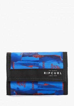 Кошелек Rip Curl POSTER SURF. Цвет: синий