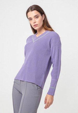 Пуловер BGN. Цвет: фиолетовый