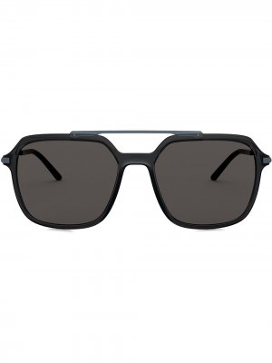 Солнцезащитные очки-авиаторы Slim Dolce & Gabbana Eyewear. Цвет: серый