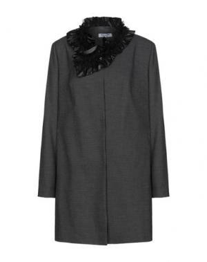 Пальто EDAS. Цвет: черный