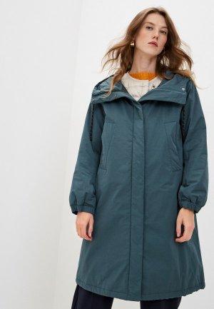 Куртка утепленная Weekend Max Mara CLIMA. Цвет: зеленый
