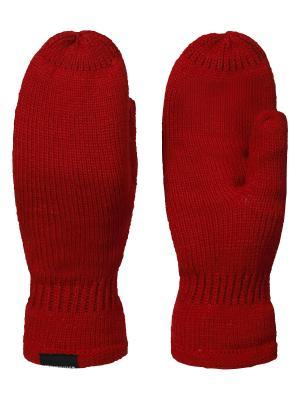 Варежки Icepeak. Цвет: красный