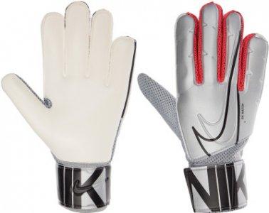 NK GK MATCH-FA19, размер 8 Nike. Цвет: серебристый