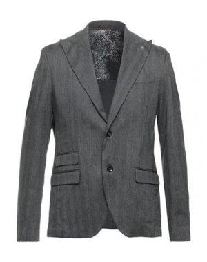 Пиджак OFFICINA 36. Цвет: серый