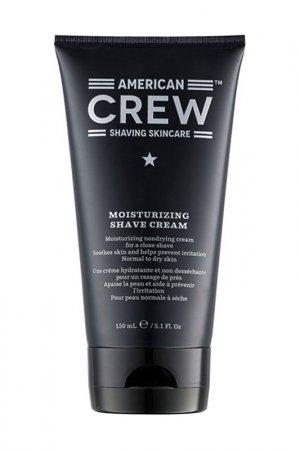 Увлажняющий крем для бритья Mo AMERICAN CREW. Цвет: белый