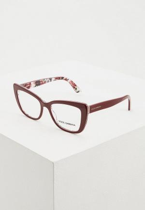 Оправа Dolce&Gabbana DG3308 3202. Цвет: бордовый
