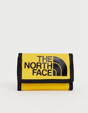 Желтый бумажник Base Camp-Оранжевый цвет The North Face