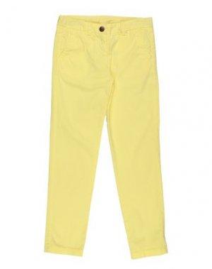 Повседневные брюки AMERICAN OUTFITTERS. Цвет: желтый