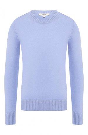 Кашемировый пуловер Vince. Цвет: голубой