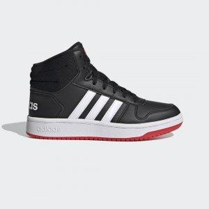 Высокие кроссовки Hoops 2.0 Performance adidas. Цвет: красный