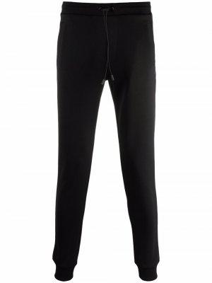 Спортивные брюки прямого кроя с кулиской Colmar. Цвет: черный