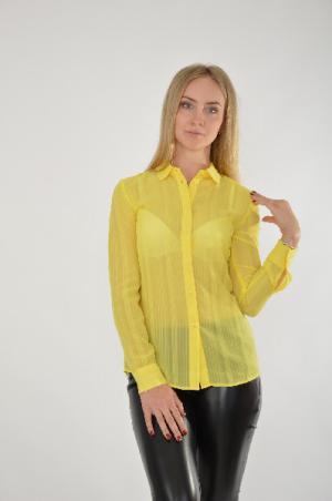 Блуза Kira Plastinina. Цвет: желтый