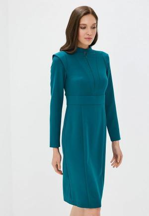 Платье Akimbo. Цвет: бирюзовый