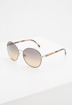 Очки солнцезащитные Burberry BE3094 1257G9. Цвет: коричневый