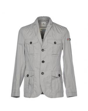 Пиджак PEUTEREY. Цвет: светло-серый