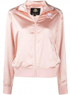 Куртка Egira из коллаборации с Juicy Couture Kappa. Цвет: розовый
