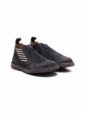 Ботинки Leo Pèpè. Цвет: серый