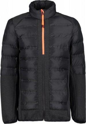 Куртка утепленная мужская Branch, размер 46 IcePeak. Цвет: черный