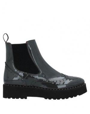 Полусапоги и высокие ботинки CALPIERRE. Цвет: свинцово-серый