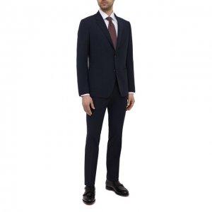 Шерстяной костюм Z Zegna. Цвет: синий