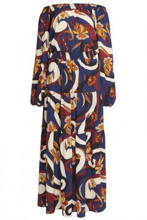 Платье Apart. Цвет: синий, мультицвет