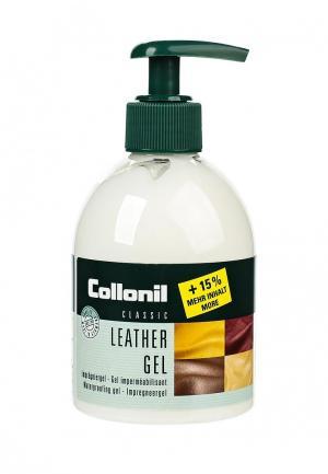 Крем для обуви Collonil Leather Gel, прозрачный, 230 мл. Цвет: прозрачный