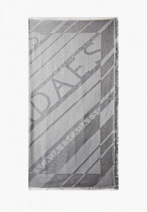 Палантин Escada Sport. Цвет: серый
