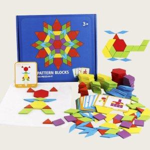Детская игрушка пазл SHEIN. Цвет: многоцветный